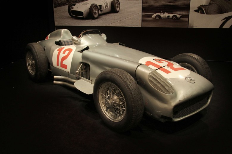 Fangio mercedes w196