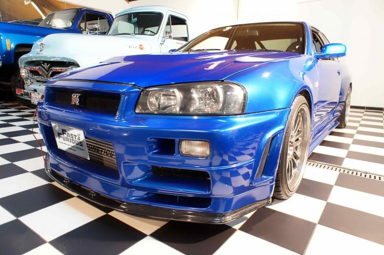 Paul Walker - Nissan GT-R34 - Fast & Furious 4 - 10