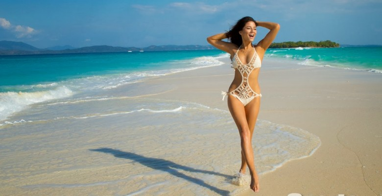 Jessica Gomes-Sports Illustrated 2014 Swimsuit 11