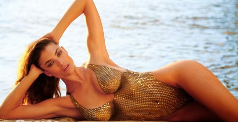 Lauren Mellor-Sports Illustrated 2014 Body Paint 11