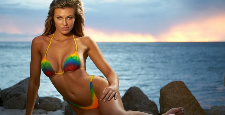 Samantha Hoopes-Sports Illustrated 2014 Body Paint 08