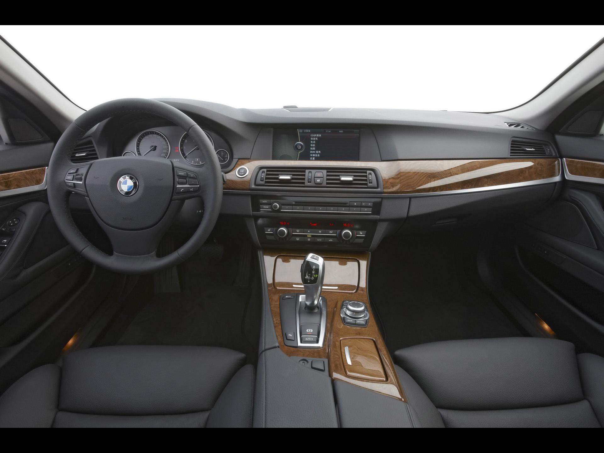 2010 BMW 5 Series Long Wheelbase Sedan Dashboard 1920x1440