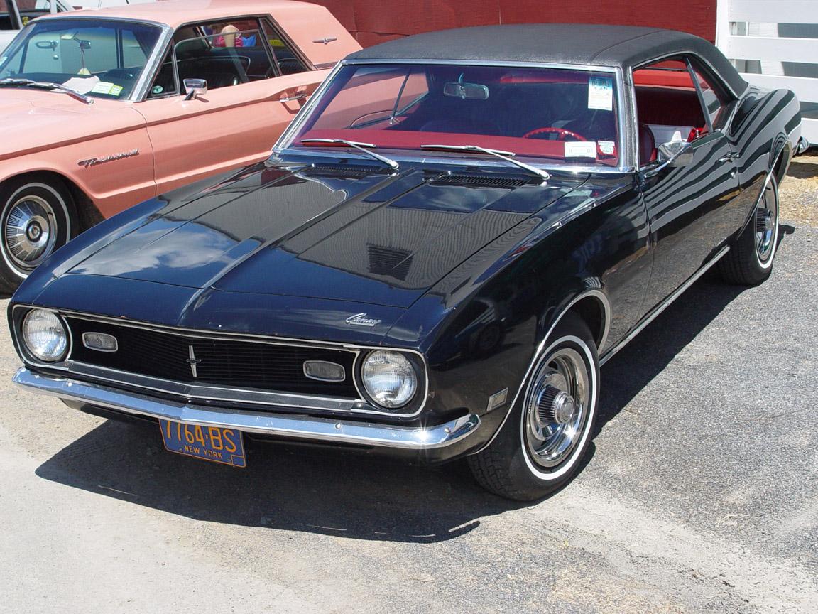 Index Of Wp Content Uploads Arabaresimleri Chevrolet 1968 Camaro Rs Ss Black Sy 1152x864