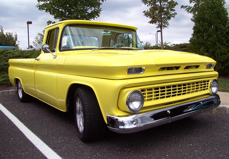 Yellow Chevrolet photo: 1963 C…