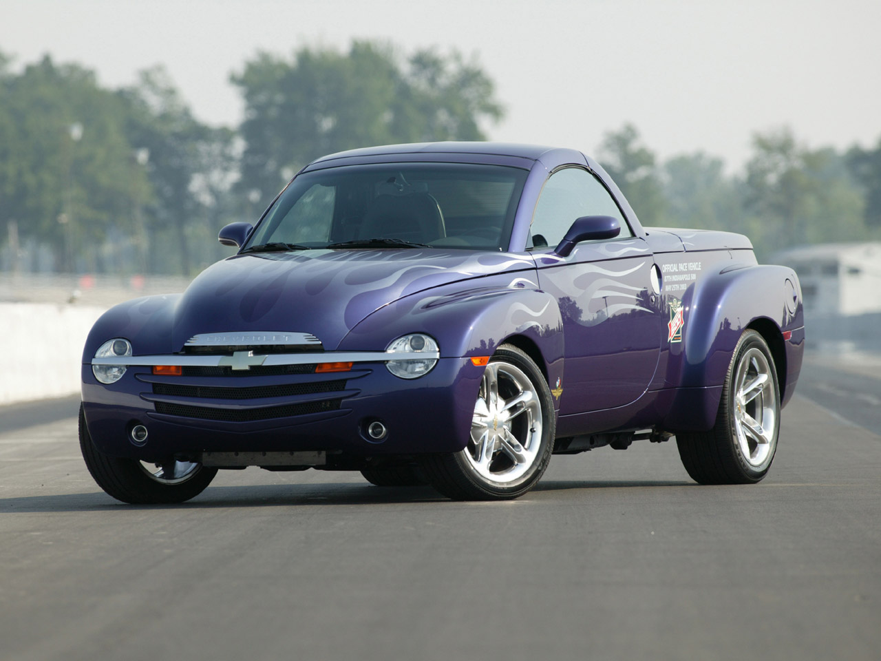 index of wp content uploads arabaresimleri chevrolet chevy ssr 2003 2003 chevy ssr indy 500 pace car fa 1280x960 jpg