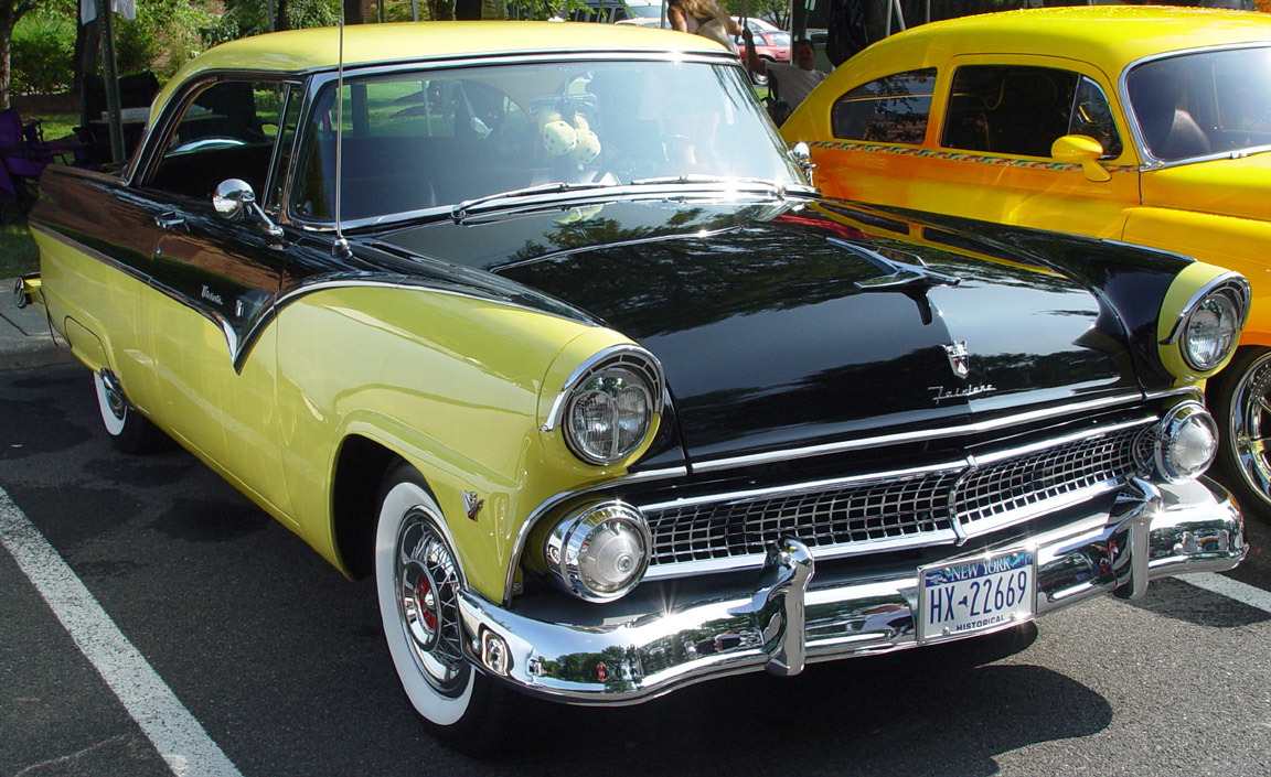 Index Of Wp Content Uploads Arabaresimleri Ford Fairlane 1956 1950s Bumper Black Yellow Fa X Le