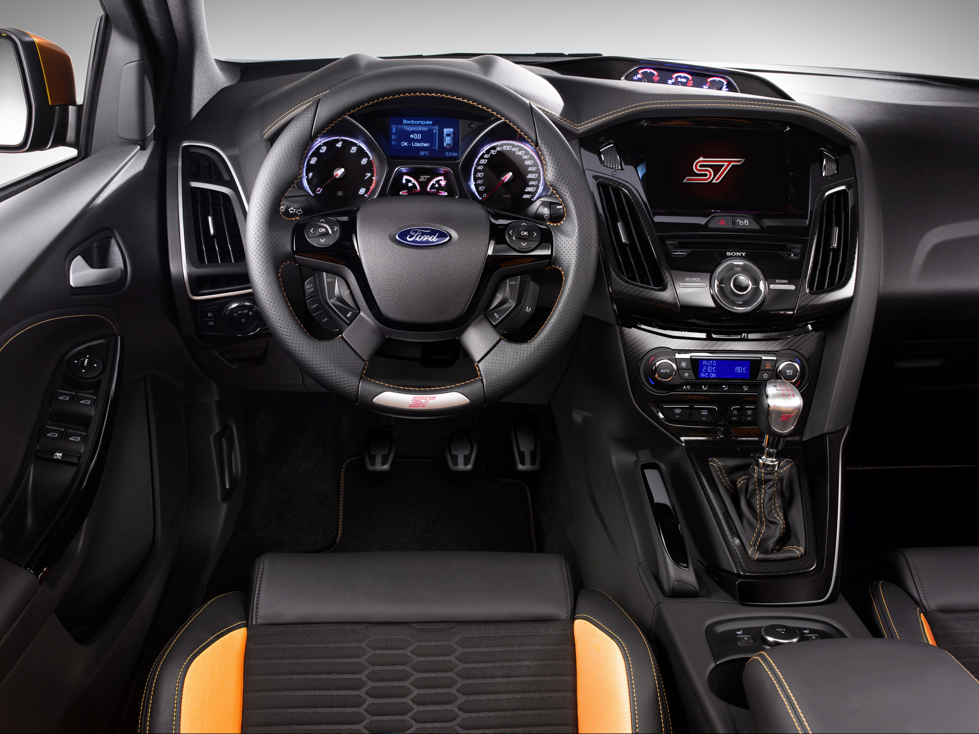 2012 ford focus st dashboard 1920x1440jpg