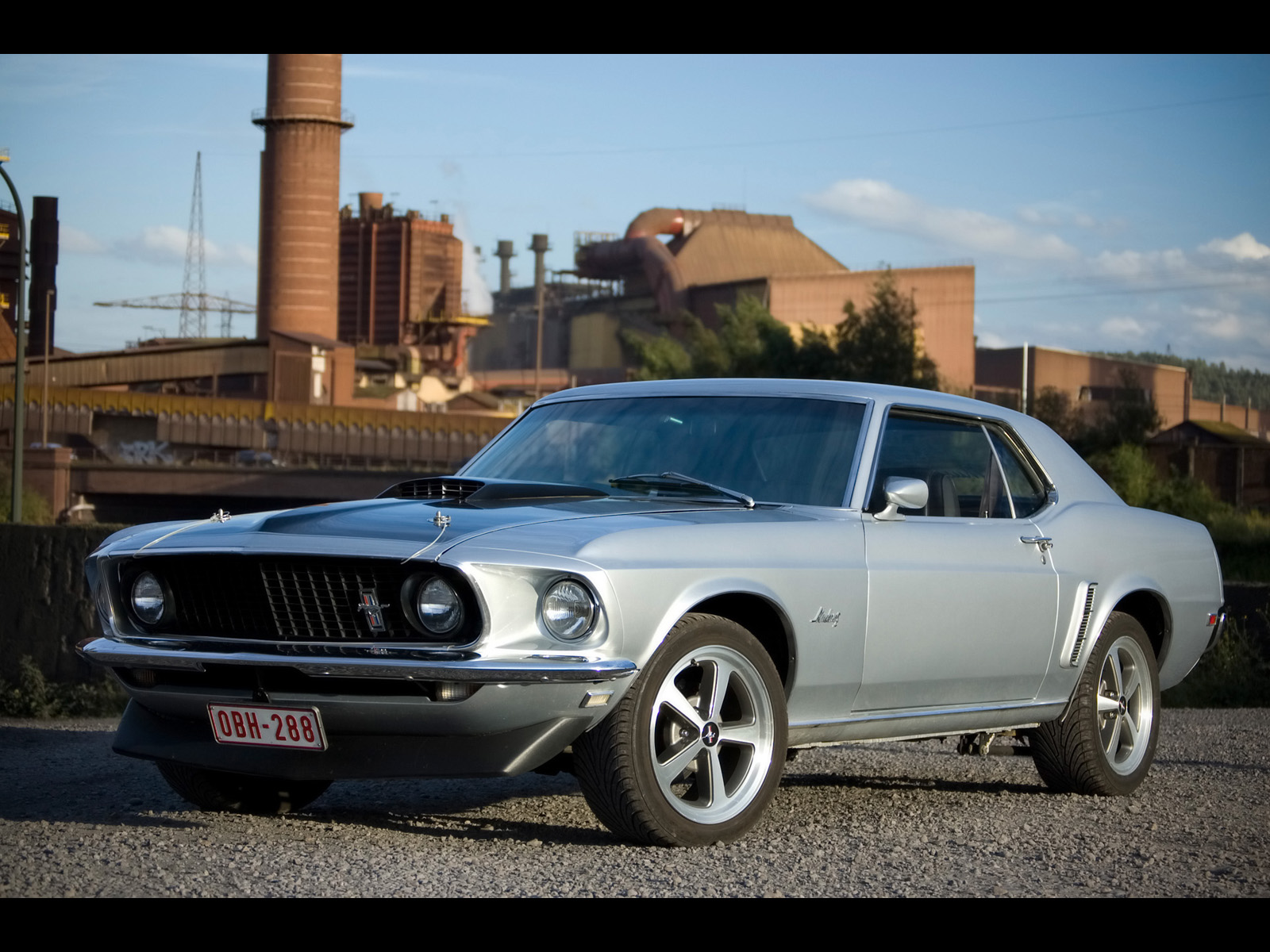 1969 ford mustang hardtop factory front angle 1600x1200 jpg