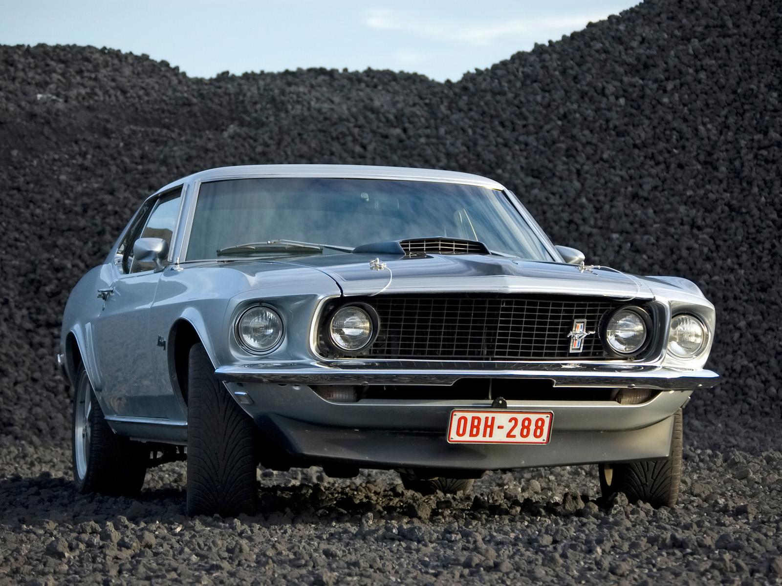 1969 ford mustang hardtop gravel front angle 1600x1200 jpg