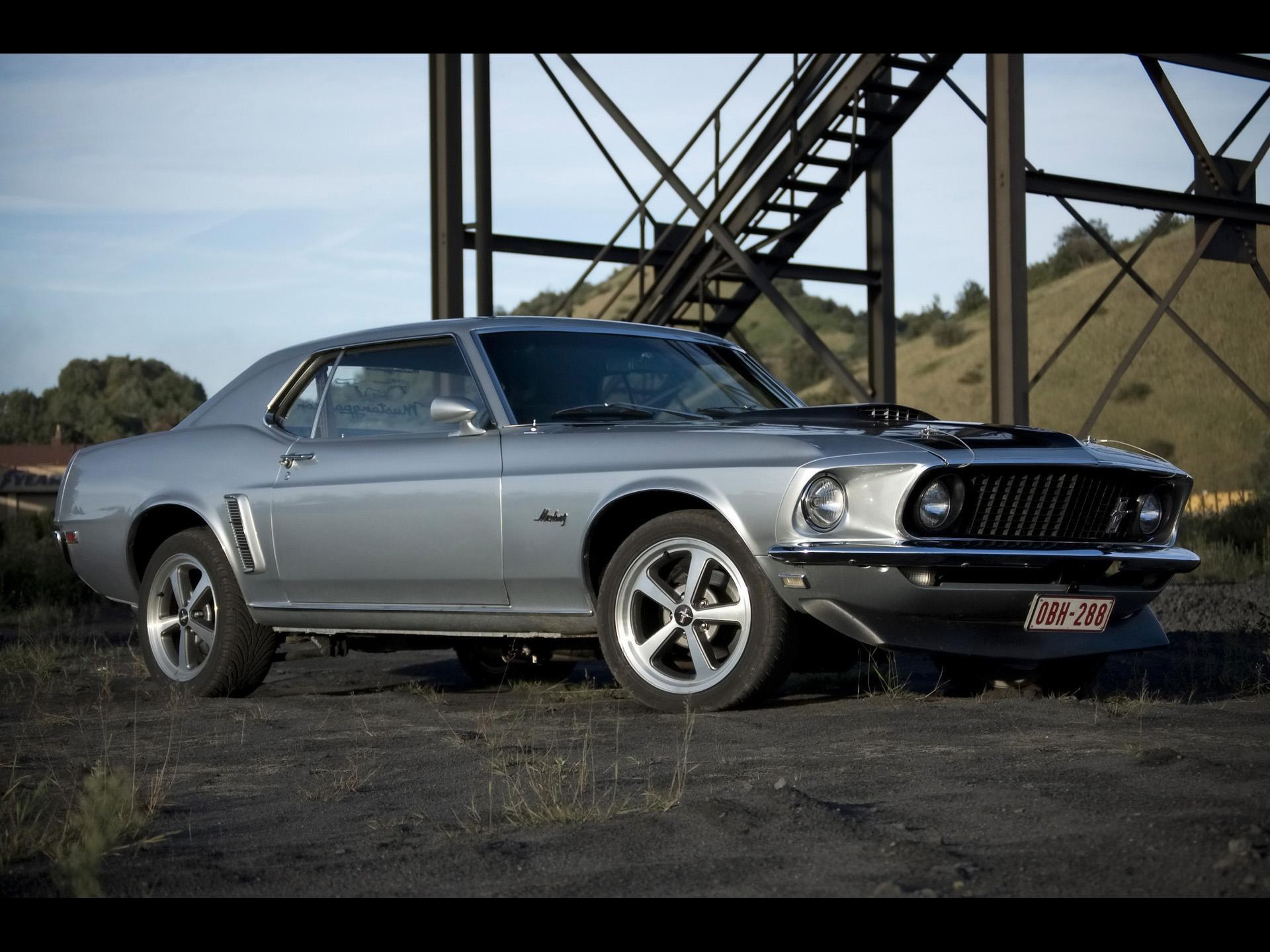 1969 ford mustang hardtop side angle 1920x1440 jpg